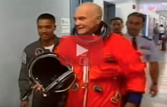 Video: Fallece el astronauta John Glenn