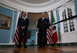 Videgaray y Tillerson se reúnen en Washington