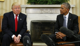Revelan la carta que le dejó Obama a Donald Trump