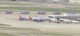 Southwest Airline Passengers delayed